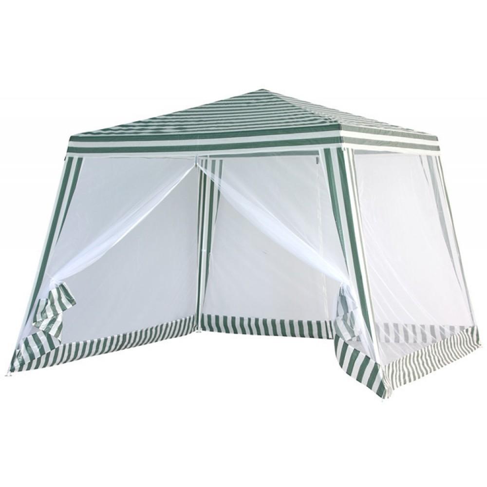 Садовая беседка Mosquito павильон тент с москитной сеткой 3x3 м