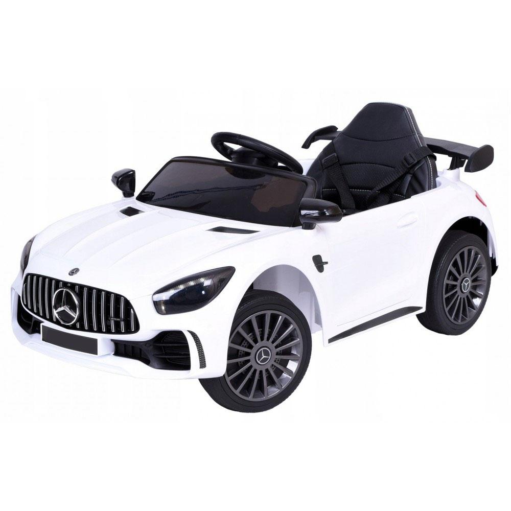 Детский электромобиль Mercedes BBH-011 белый (колеса EVA)