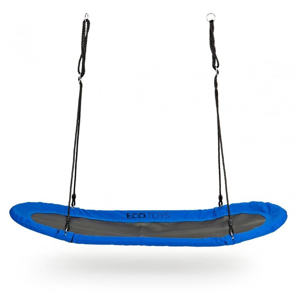 Качели для детей «Гнездо аиста» MIR624, синий