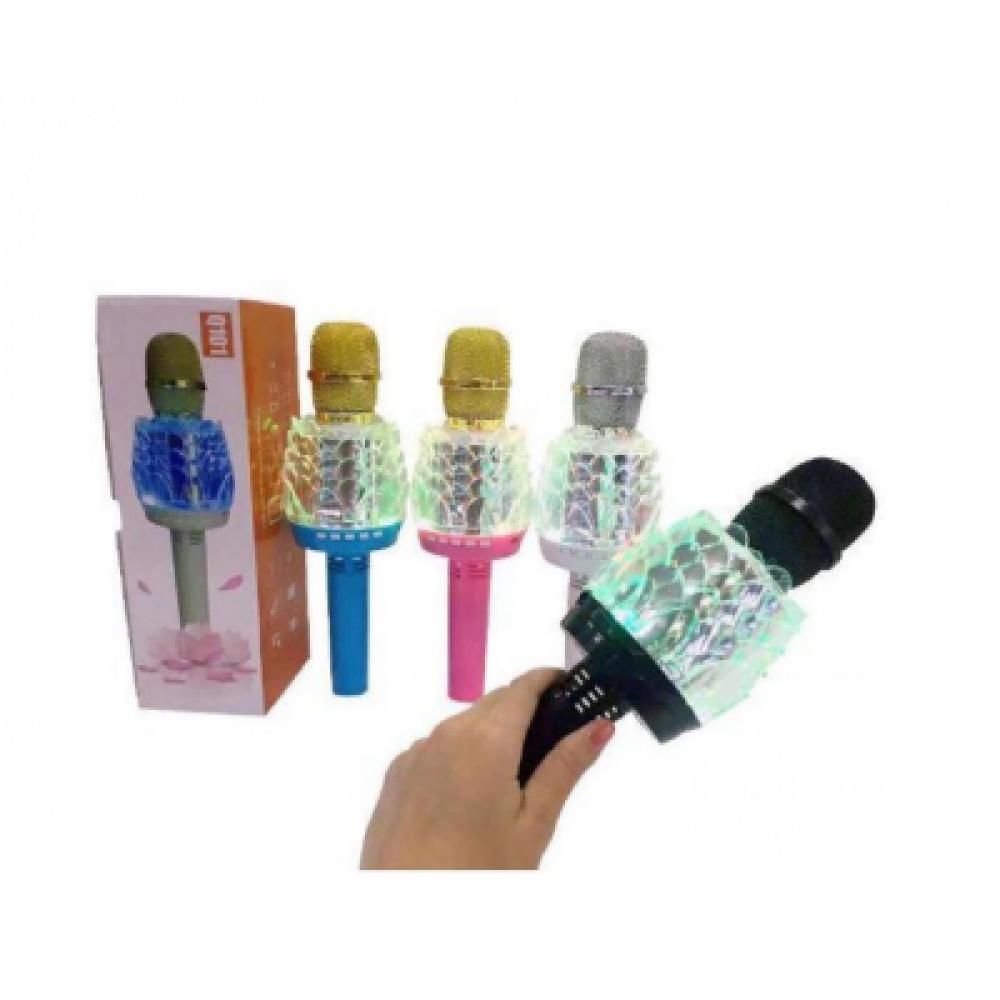 Караоке - микрофон DM Karaoke Q101 black/white