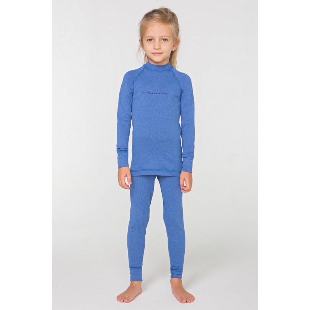 Детское термобелье Radical Snowman (original), теплое зимнее комплект Blue