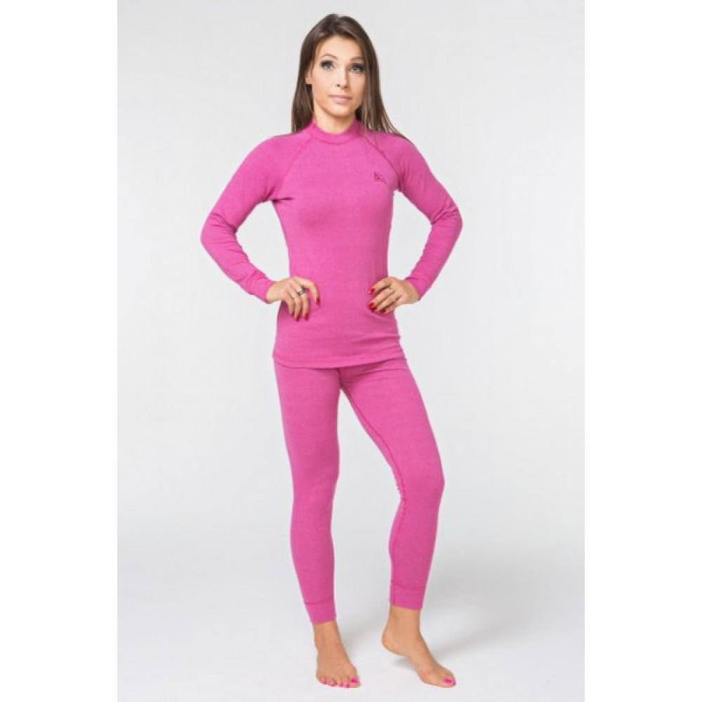 Женское повседневное термобелье Radical Cute (original), теплое зимнее комплект,Pink