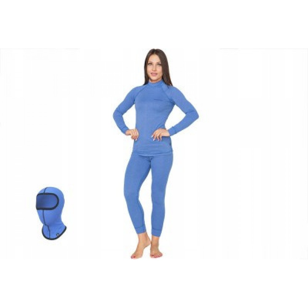 Женское повседневное термобелье Radical Cute (original), теплое зимнее комплект, Blue