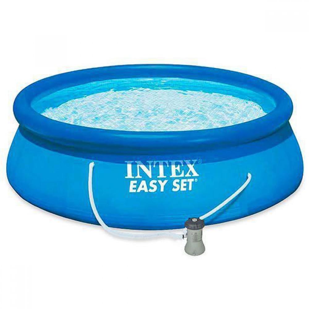 Бассейн надувной Intex 28142 Easy Set Pool 396*84 см