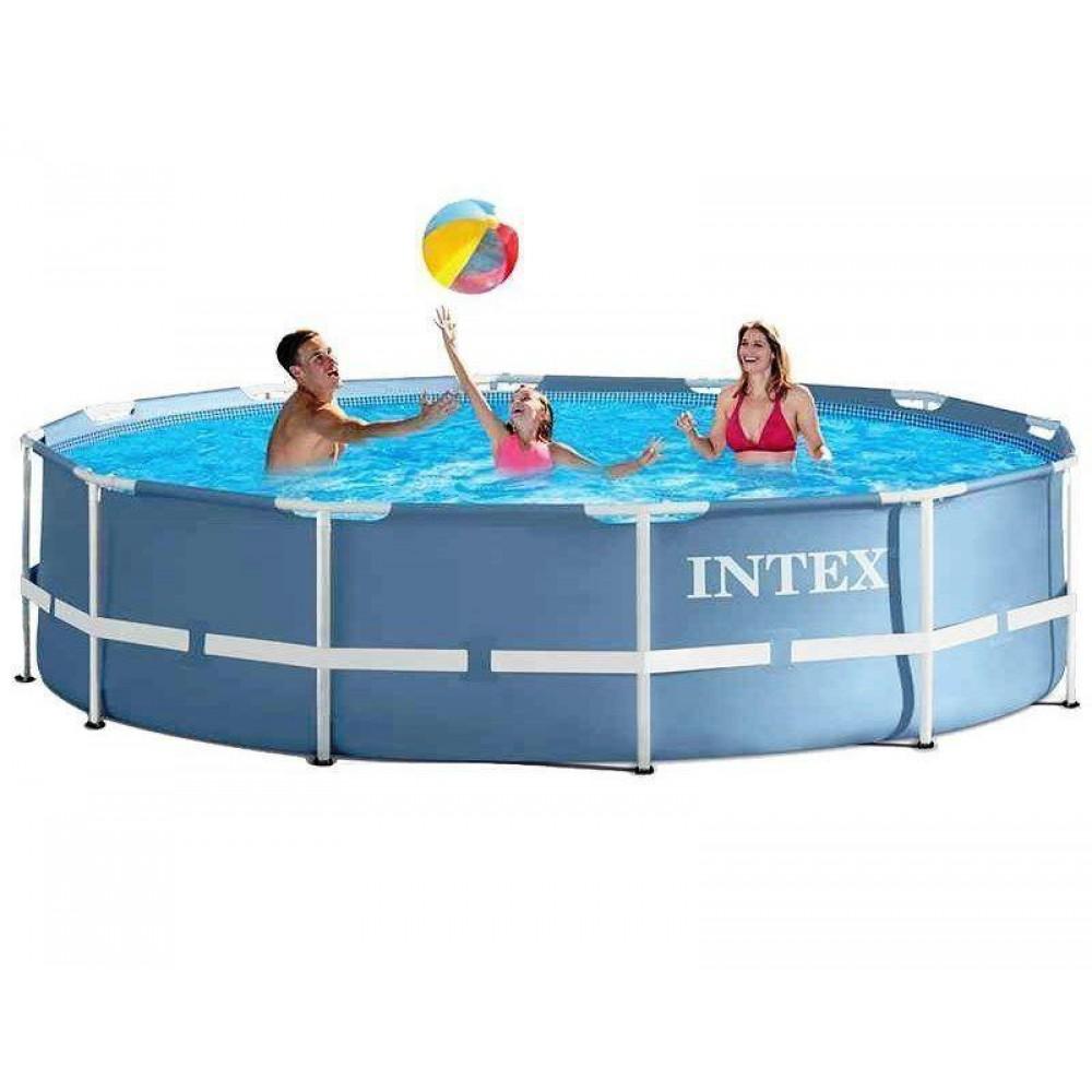 Бассейн каркас Intex 28710 Prism Frame Pool 366х76 см