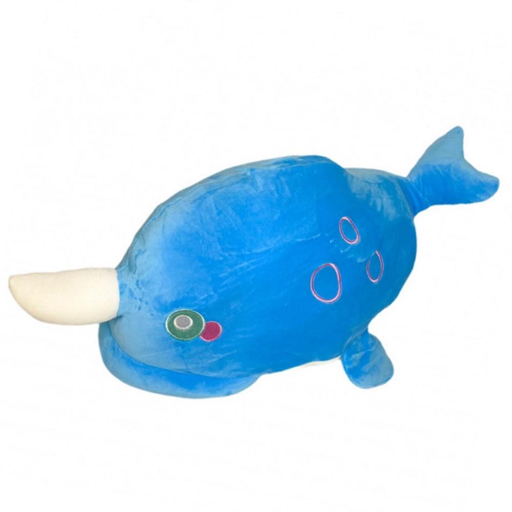 Игрушка плед трансформер 3 в 1 Happy Toys микрофибра,29298, дельфин