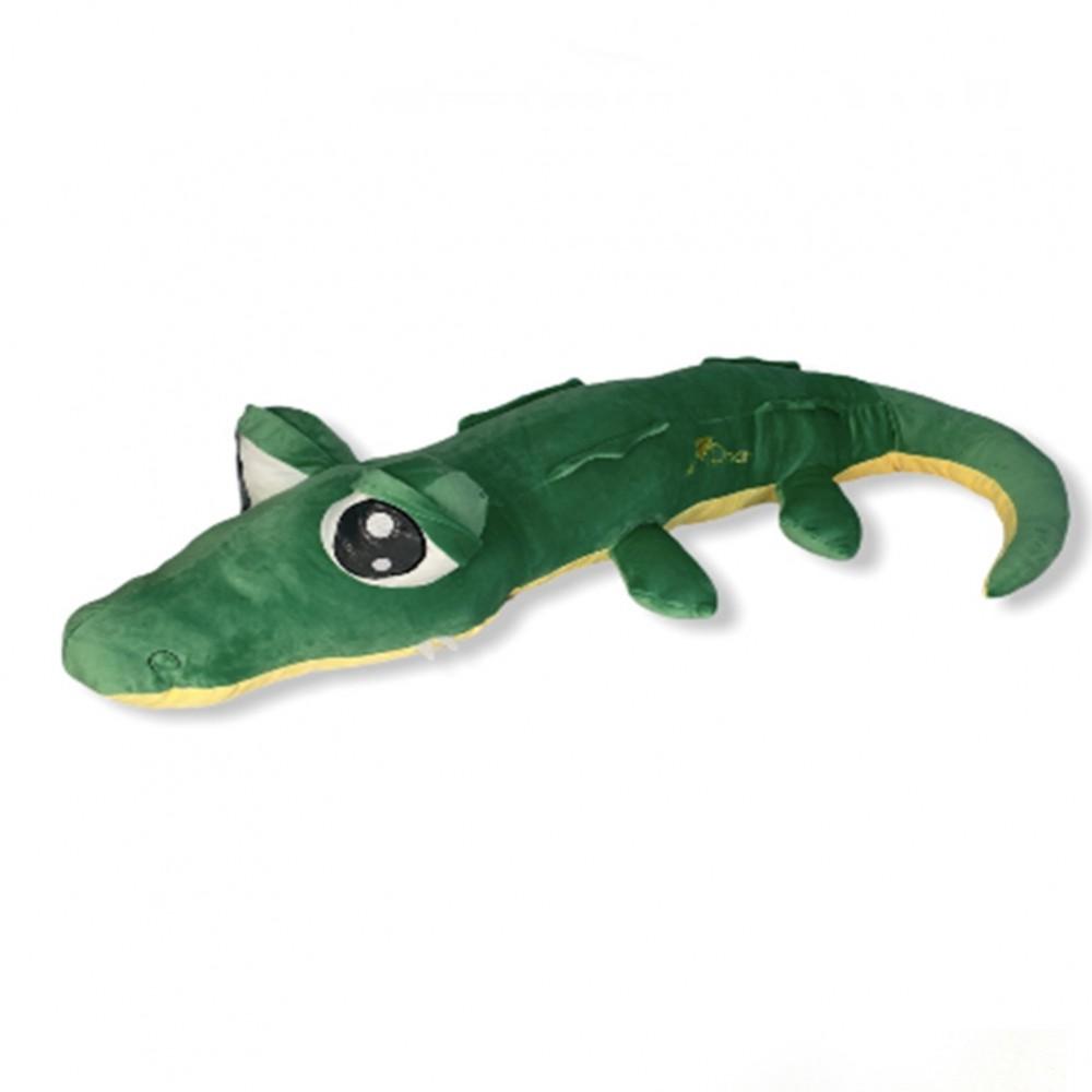 Игрушка плед трансформер 3 в 1 Happy Toys микрофибра, 29269, крокодил