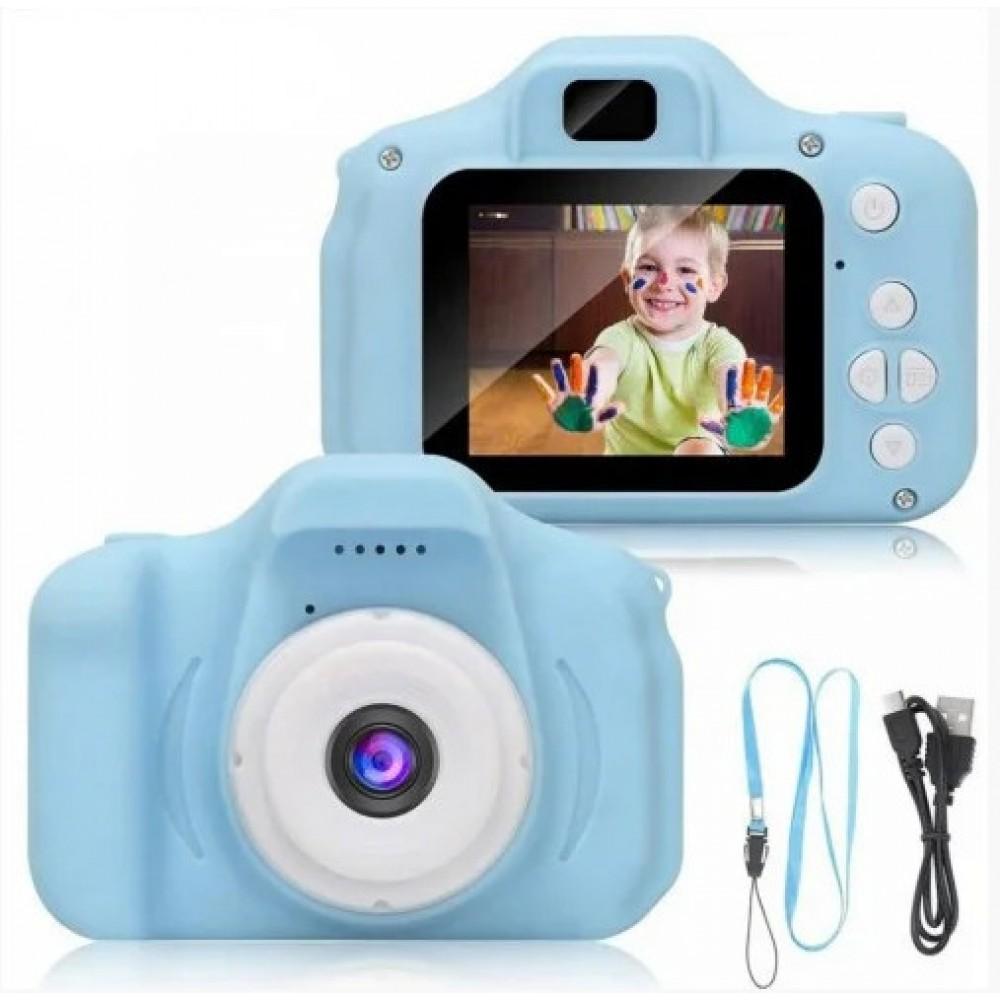 Детский цифровой фотоаппарат GM14/X200 Blue 14162
