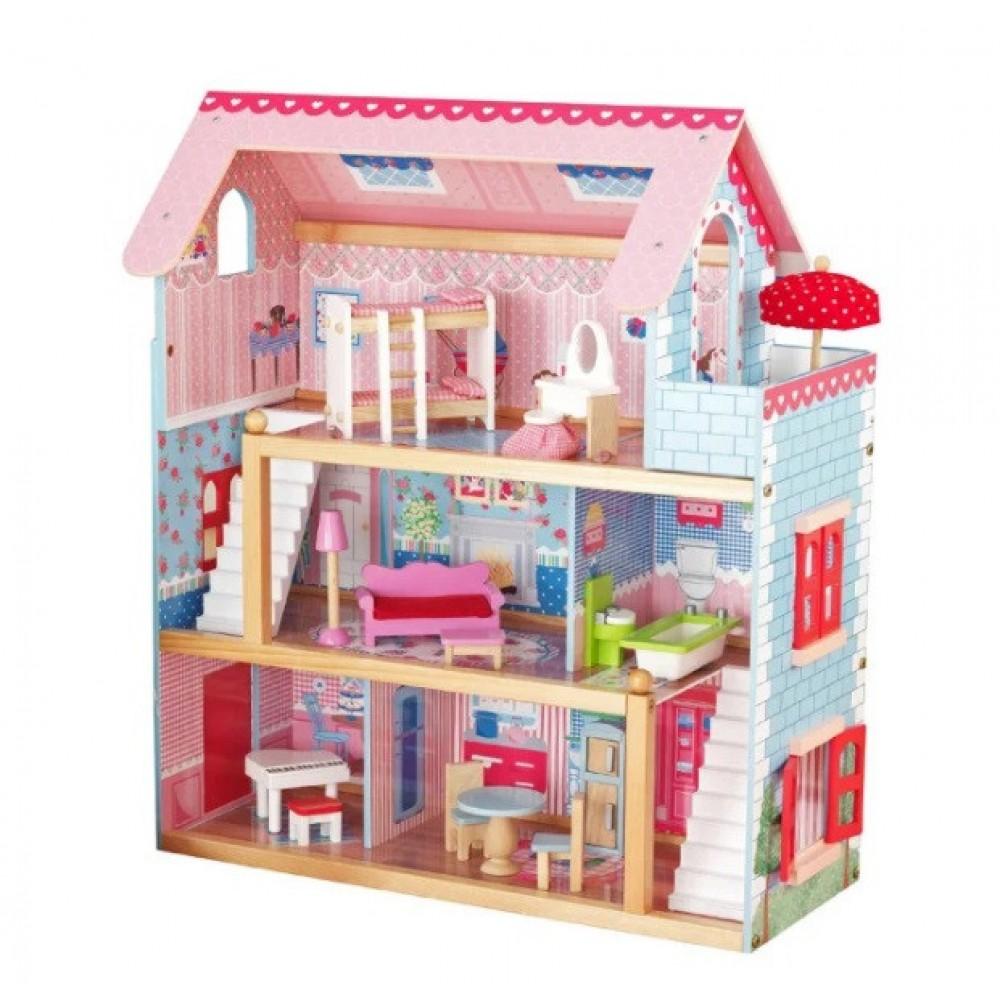 Кукольний домик Avko 44100 Вилла Савона + 2 куклы