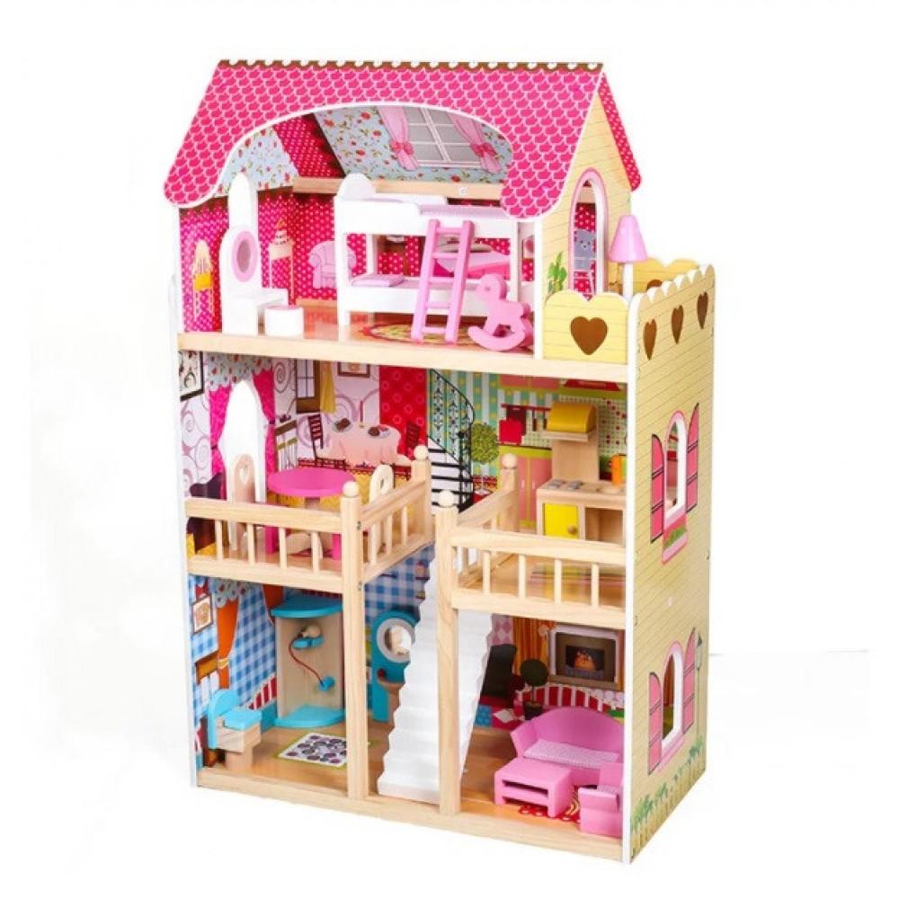 Кукольный домик AVKO 44163 Вилла Валетта с LED подсветкой