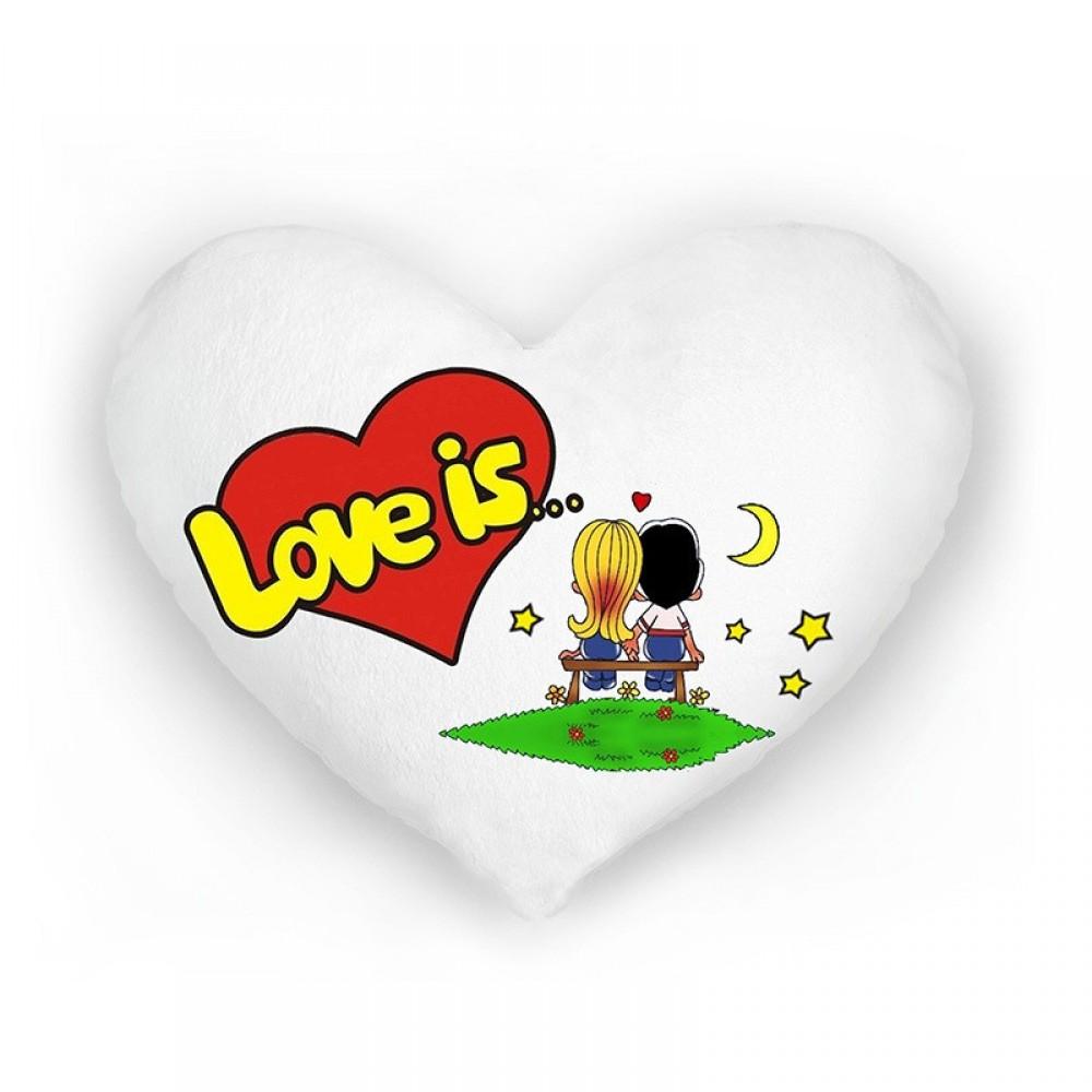 """Подушка-ночник """"Love is"""""""