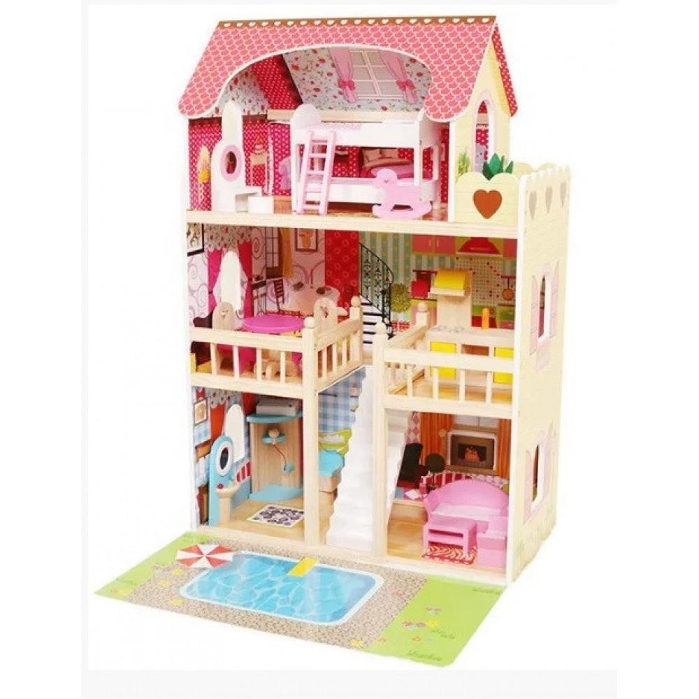 Кукольний домик Avko 44333 Вилла Верона + подсветка