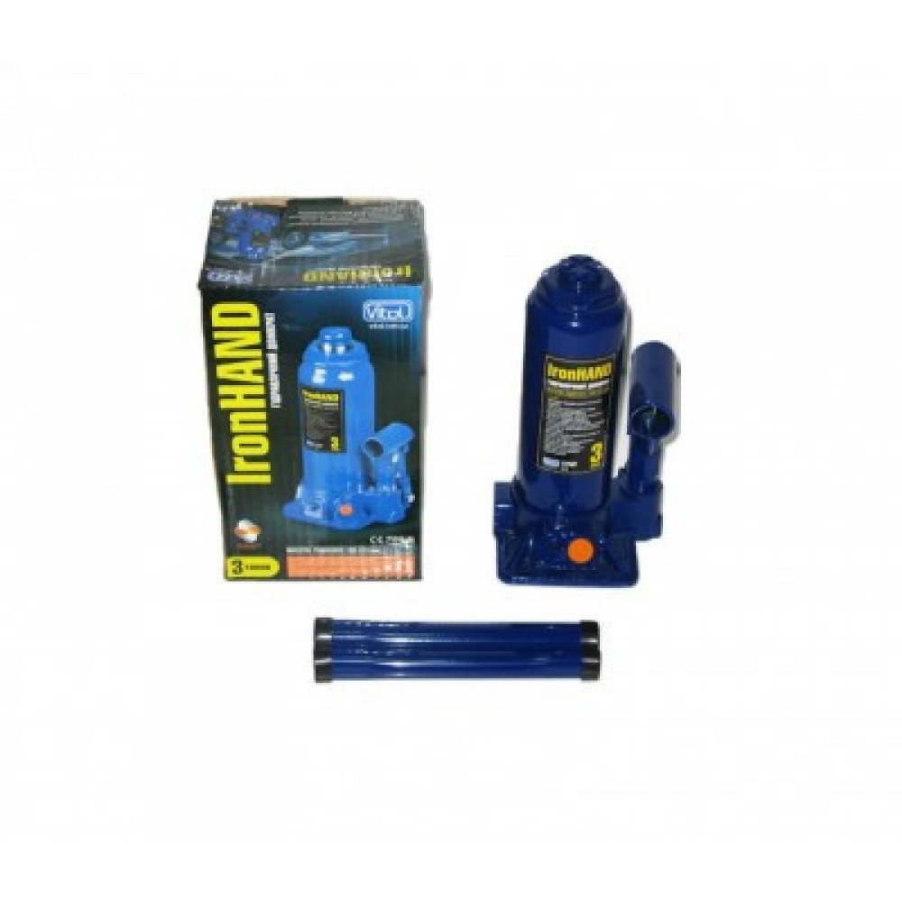 Домкрат Vitol ДБ-03006 NEW Iron Hand  Я0000001752