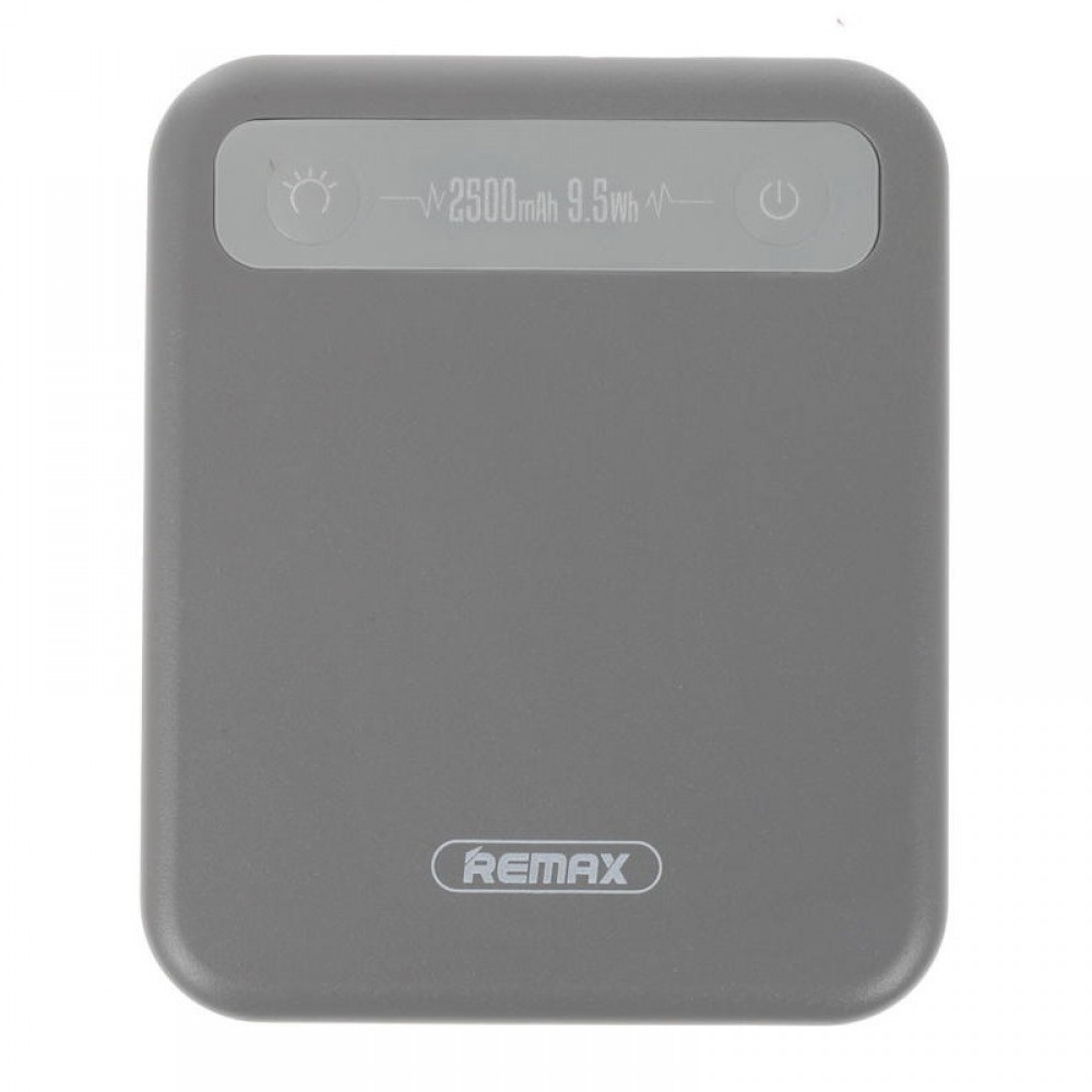 Внешний аккумулятор Power bank Remax RPP-51 Pino 2500 mAh Grey