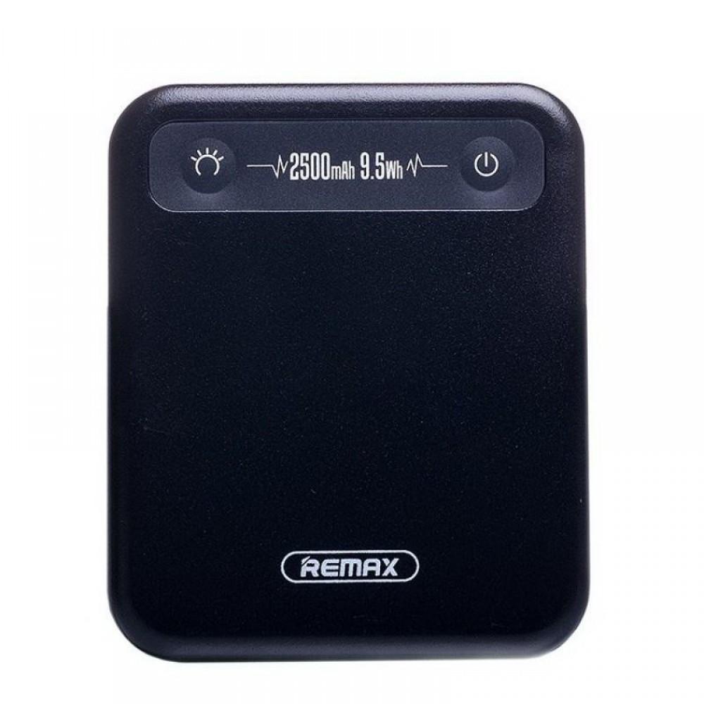 Внешний аккумулятор Power bank Remax RPP-51 Pino 2500 mAh Black