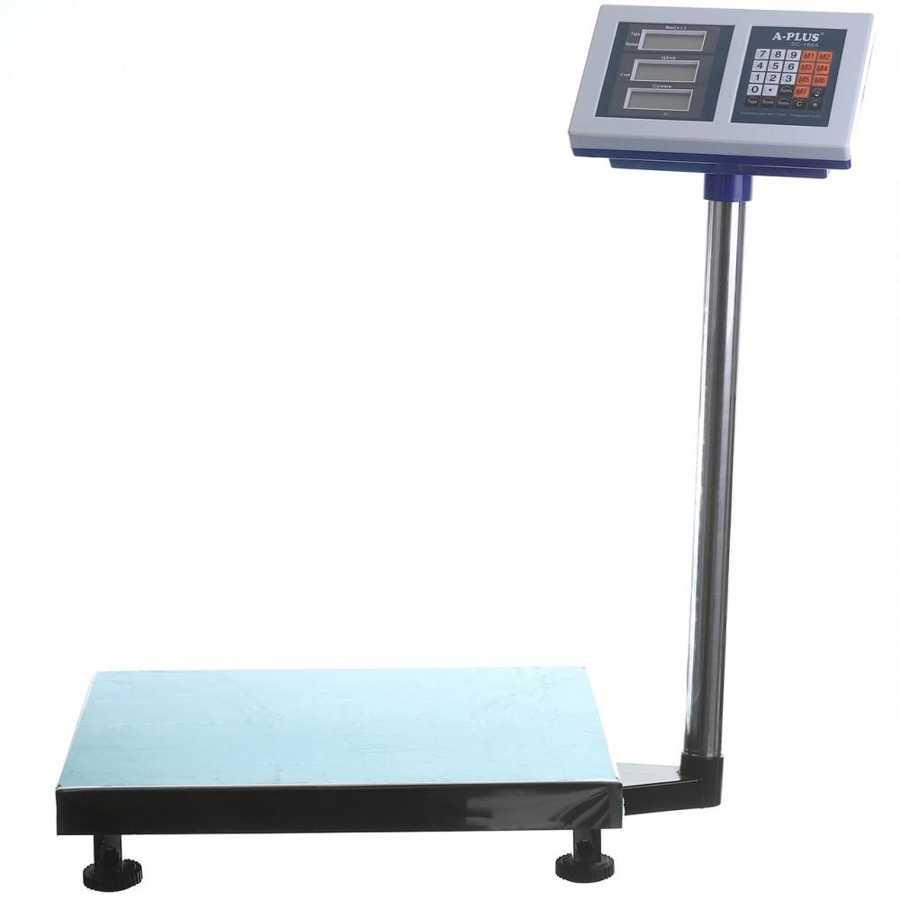 Весы торговые A-PLUS со стойкой до 150 кг