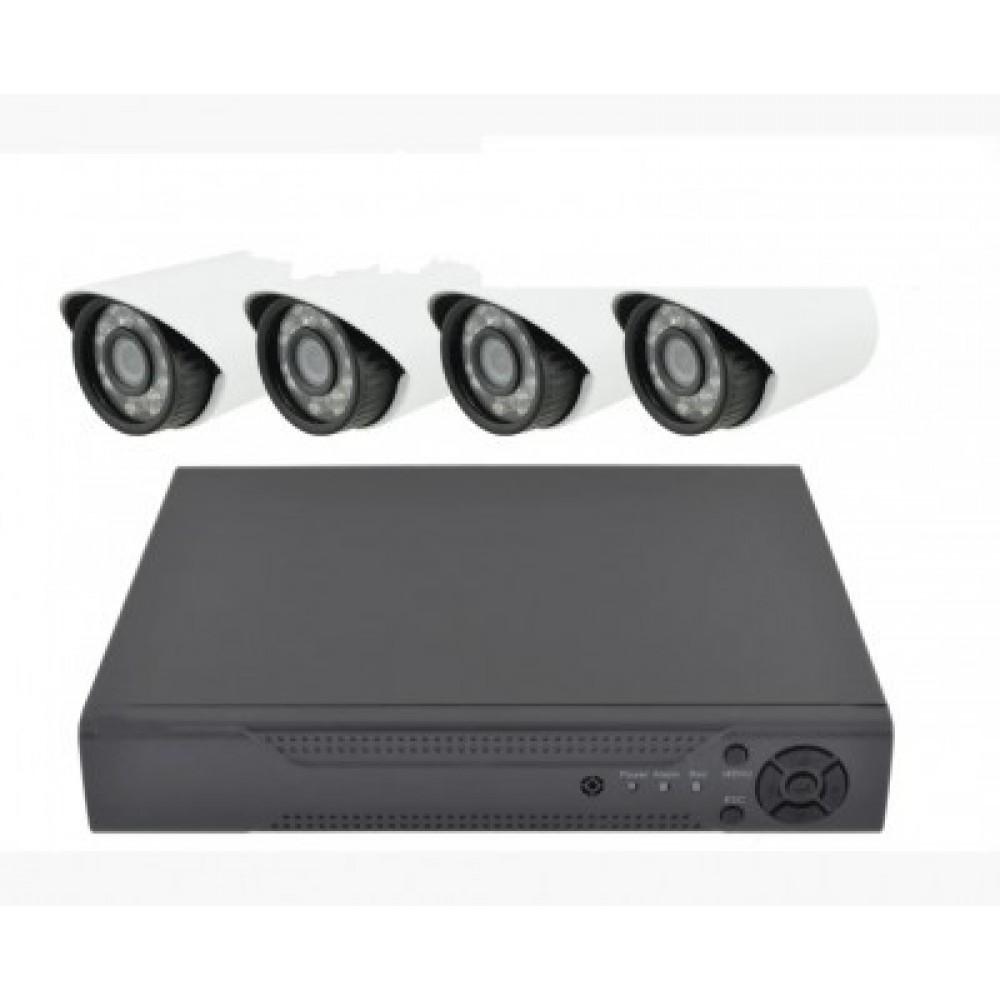 Комплект видеонаблюдения Melad 4CH AHD 1080P 3.6 мм 2 mp 4 камеры 14081