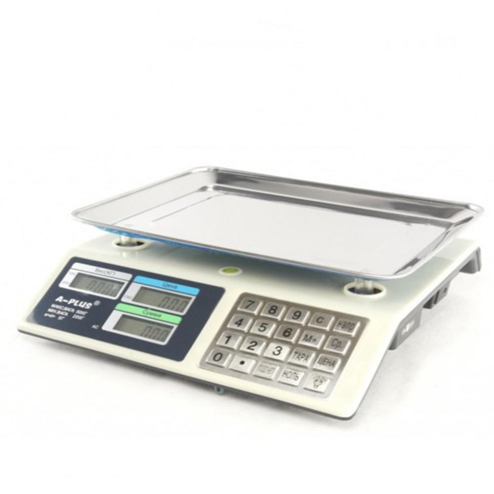 Весы торговые A-Plus до 50 кг, 1645