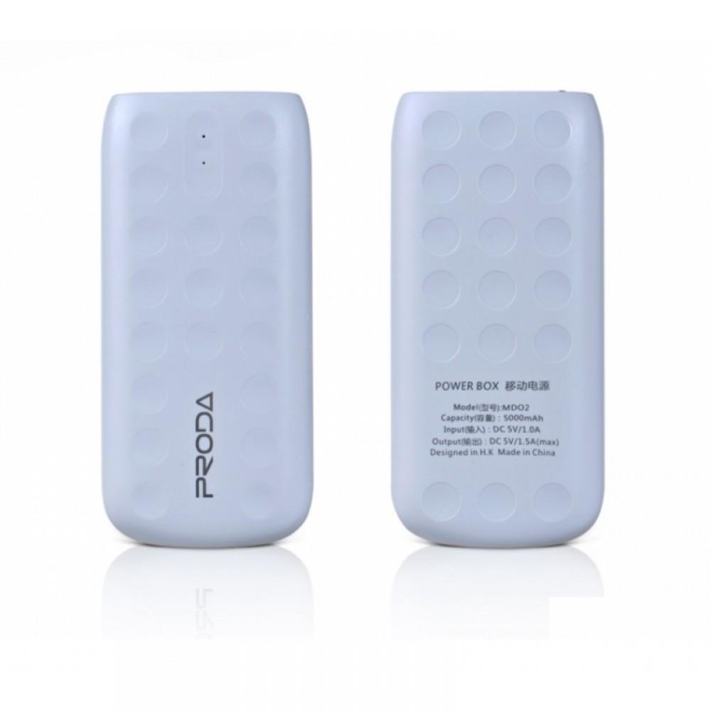 Внешний аккумулятор Power bank Remax Proda Lovely PPL-2 5000 mAh White