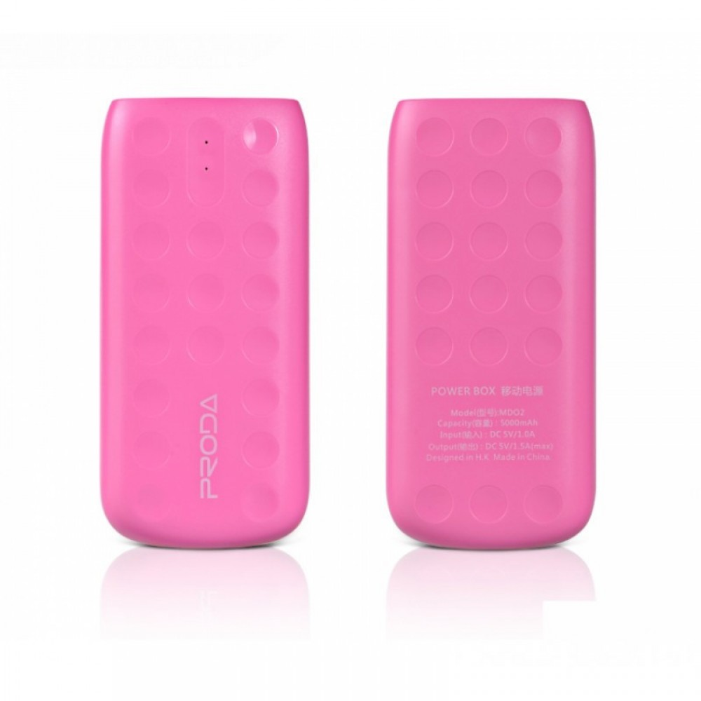 Внешний аккумулятор Power bank Remax Proda Lovely PPL-2 5000 mAh Pink