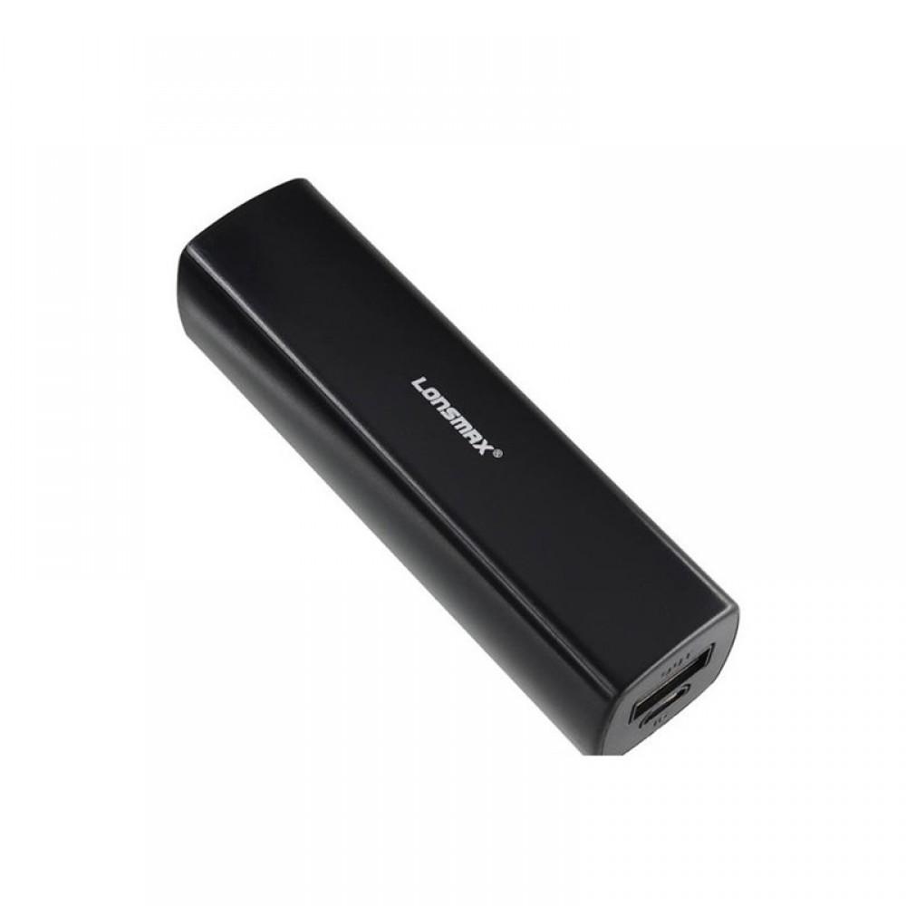 Внешний аккумулятор Power bank Golf Lonsmax GF-016 2000 mAh Black