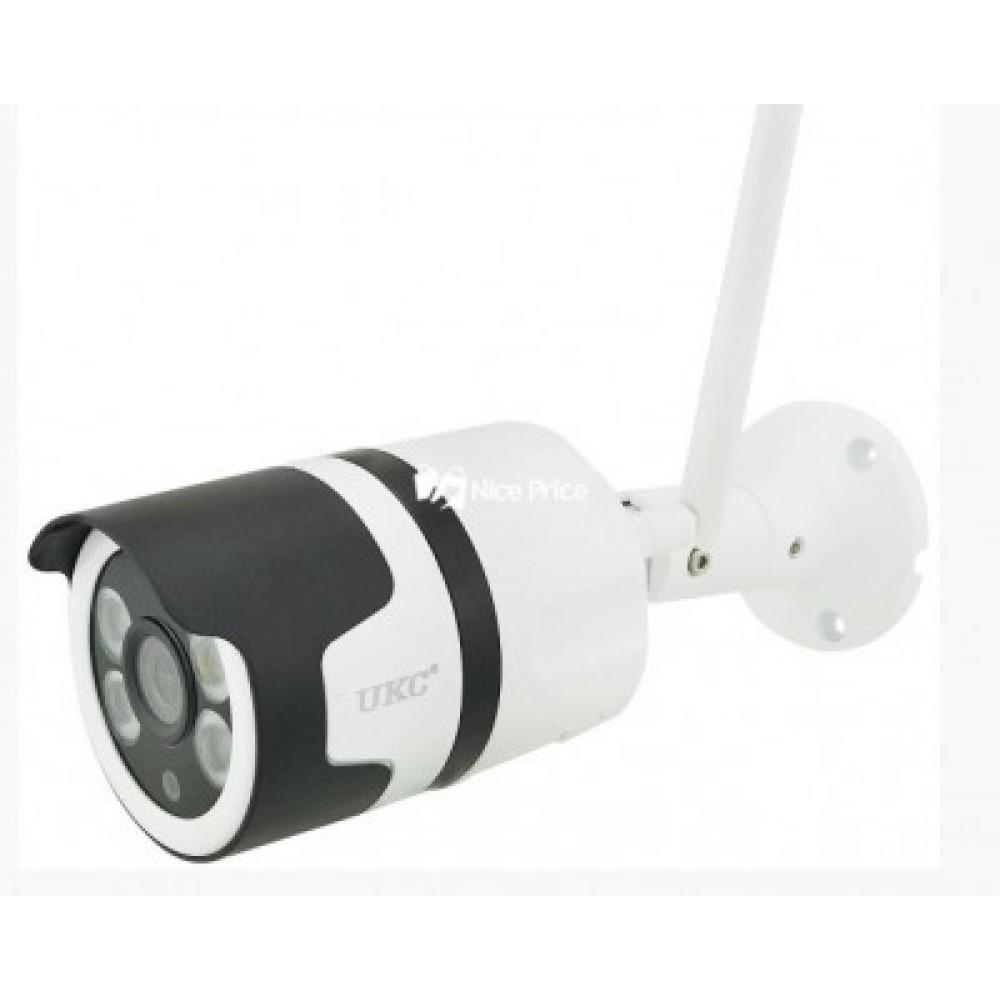 Камера настенная потолочная уличная 2 в 1 CAMERA CAD 7010 WIFI ip 1mp White 3706