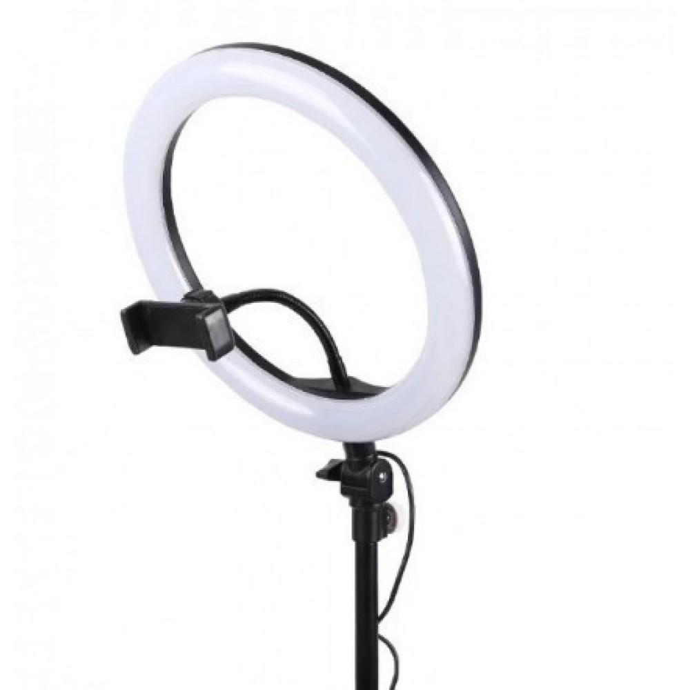 Кольцевая LED лампа USB 26cm для селфи Ring Light top