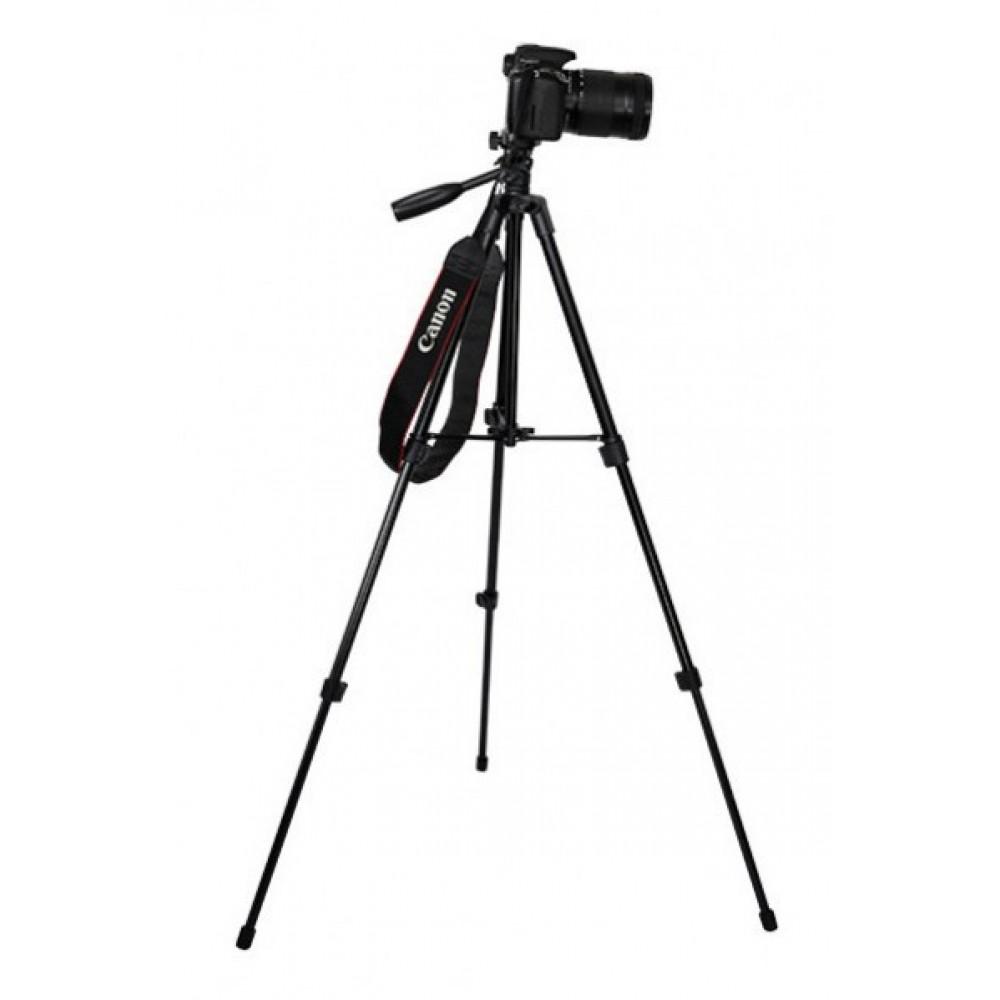 Штатив для фотоаппарата трипод A508 черный + чехол