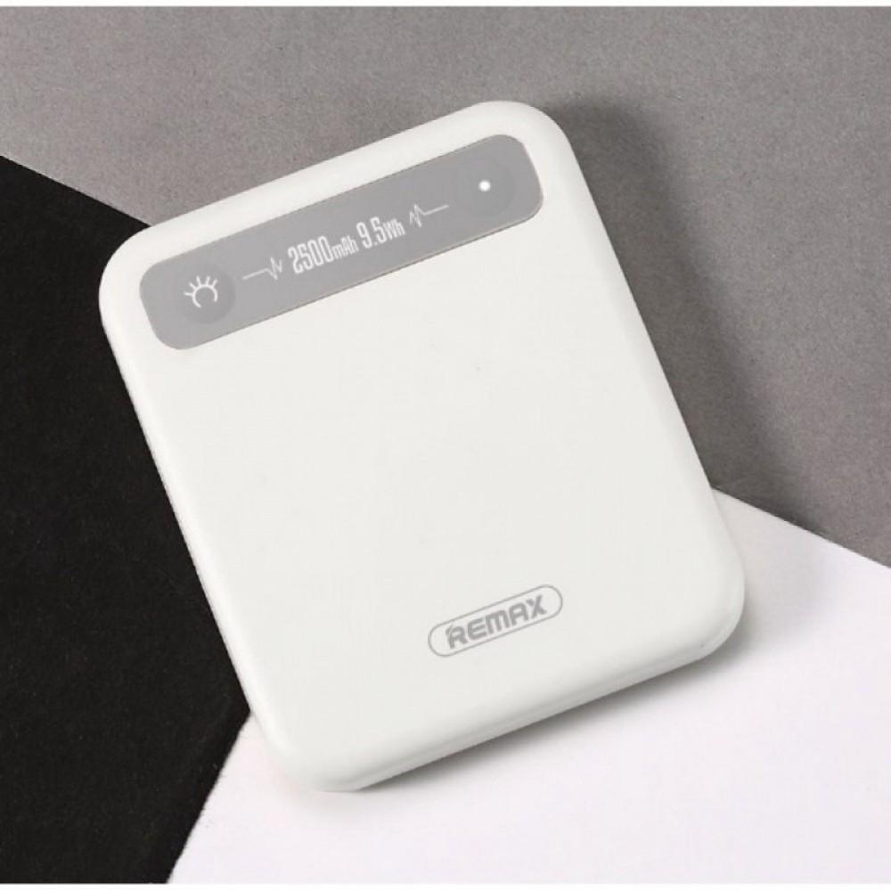 Внешний аккумулятор Power bank Remax RPP-51 Pino 2500 mAh White