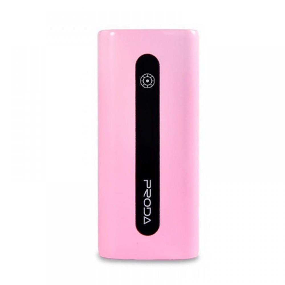 Внешний аккумулятор Power bank Remax Proda E5/PPL-15 5000 mAh Pink
