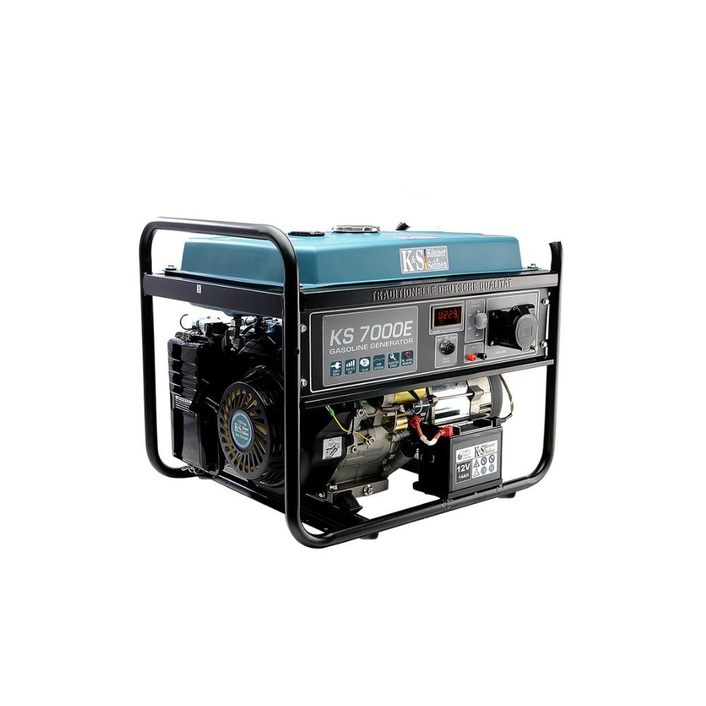 Генератор бензиновый Konner&Sohnen KS 7000 5.5кВт однофазный Германия