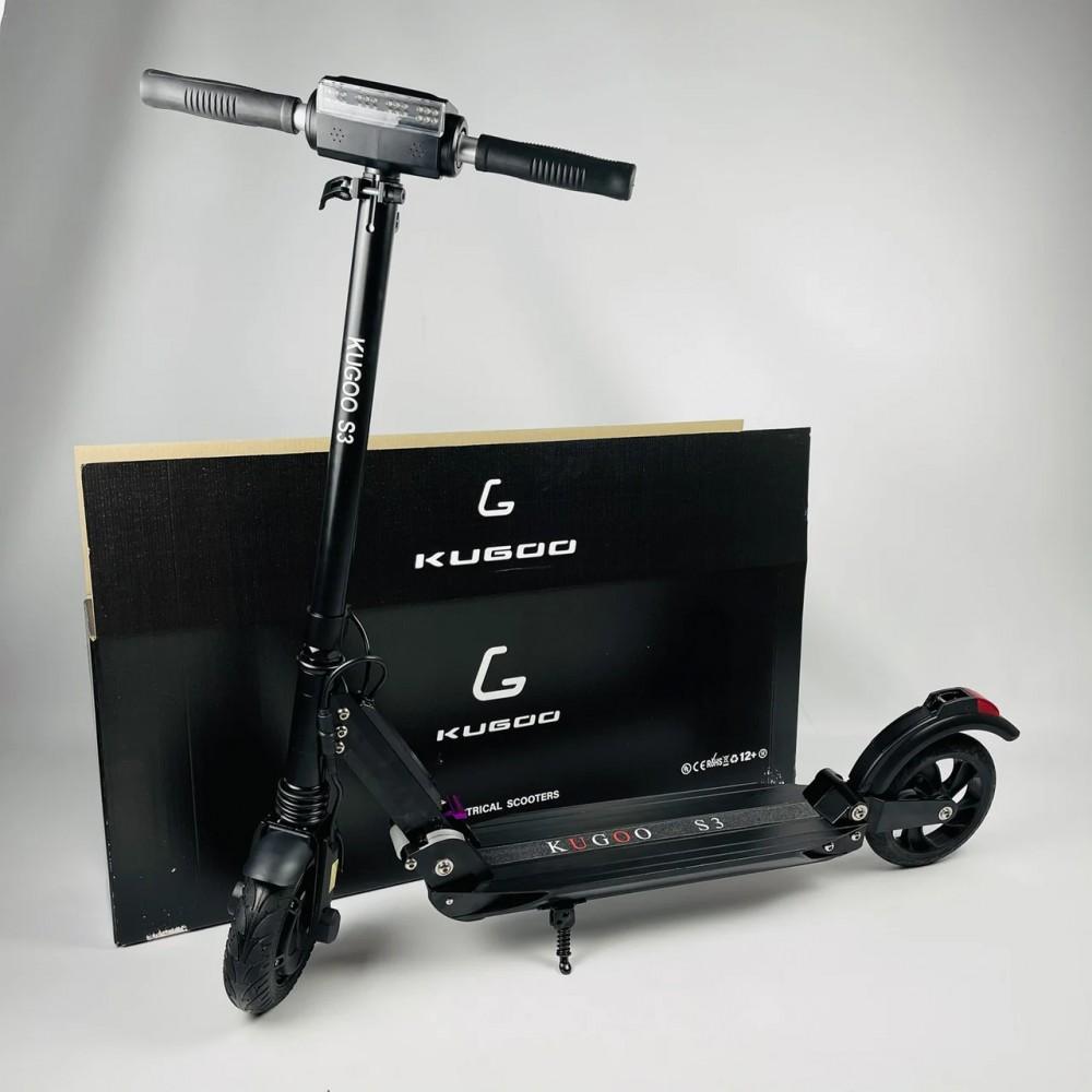 Электросамокат Kugoo S3 Black