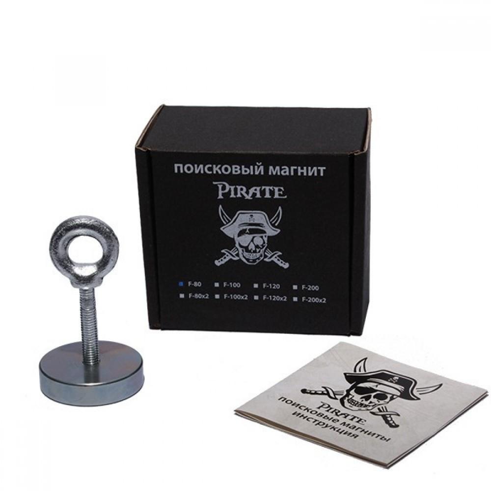 Поисковый магнит Pirate F80 односторонний (90 кг)