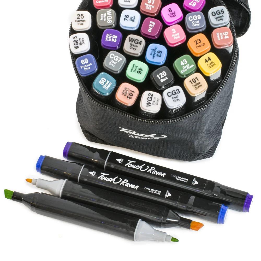 Набор маркеров для рисования Touch 36 шт