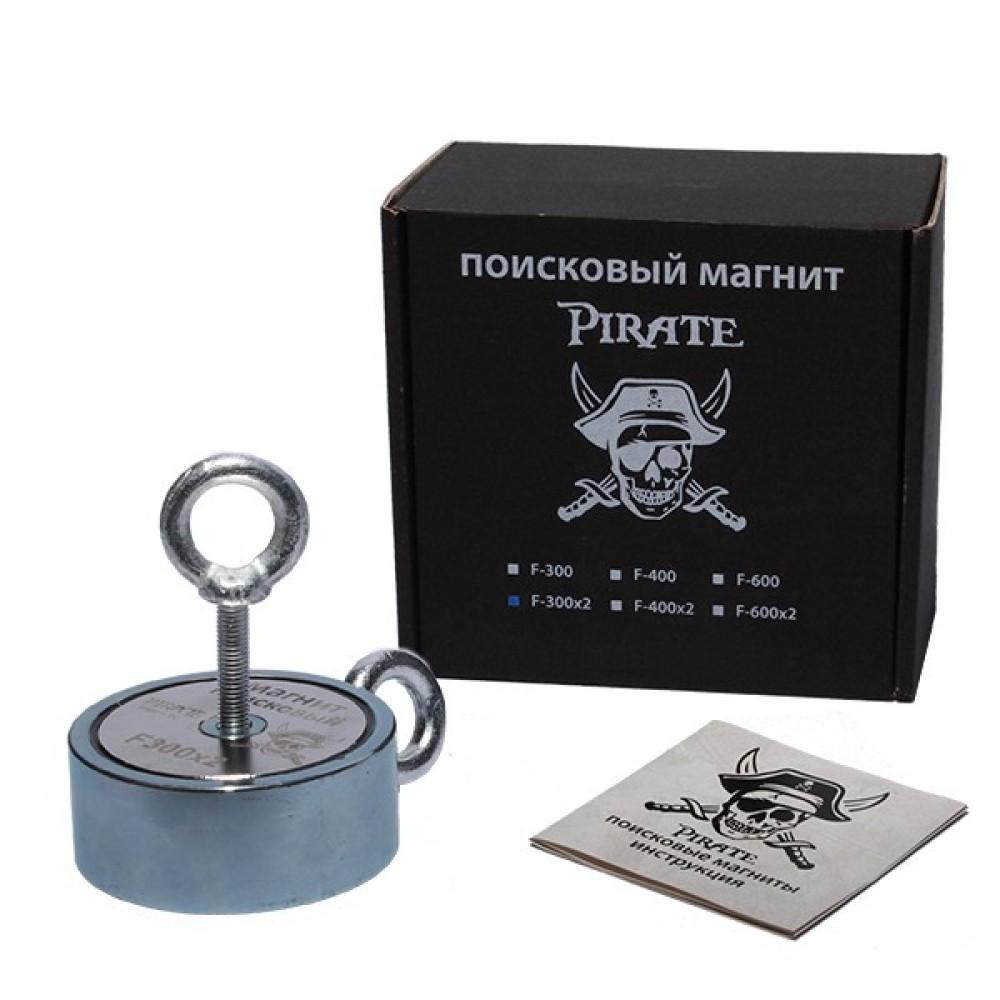 Поисковый магнит Pirate F300х2 двухсторонний (400 кг)
