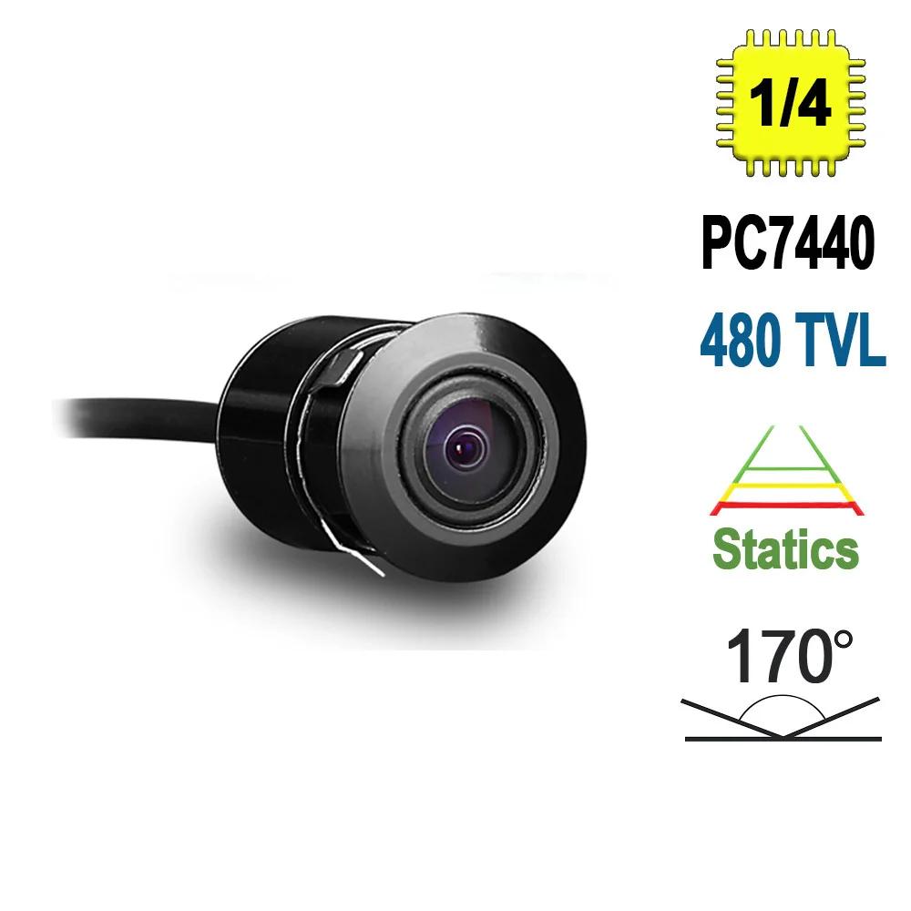 Автомобильная камера заднего вида Terra HD-185, 480 ТВЛ, сенсор PC7440
