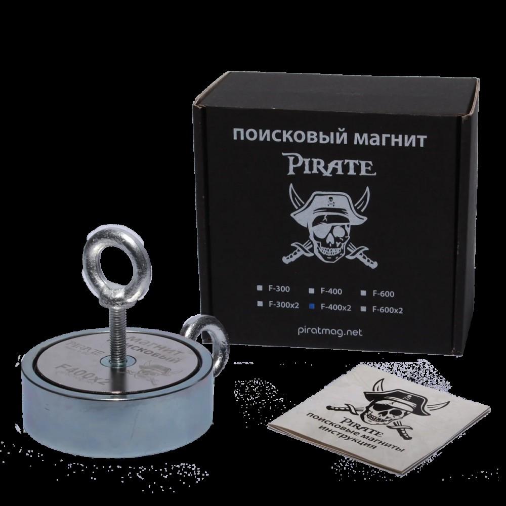 Поисковый магнит Pirate F400x2