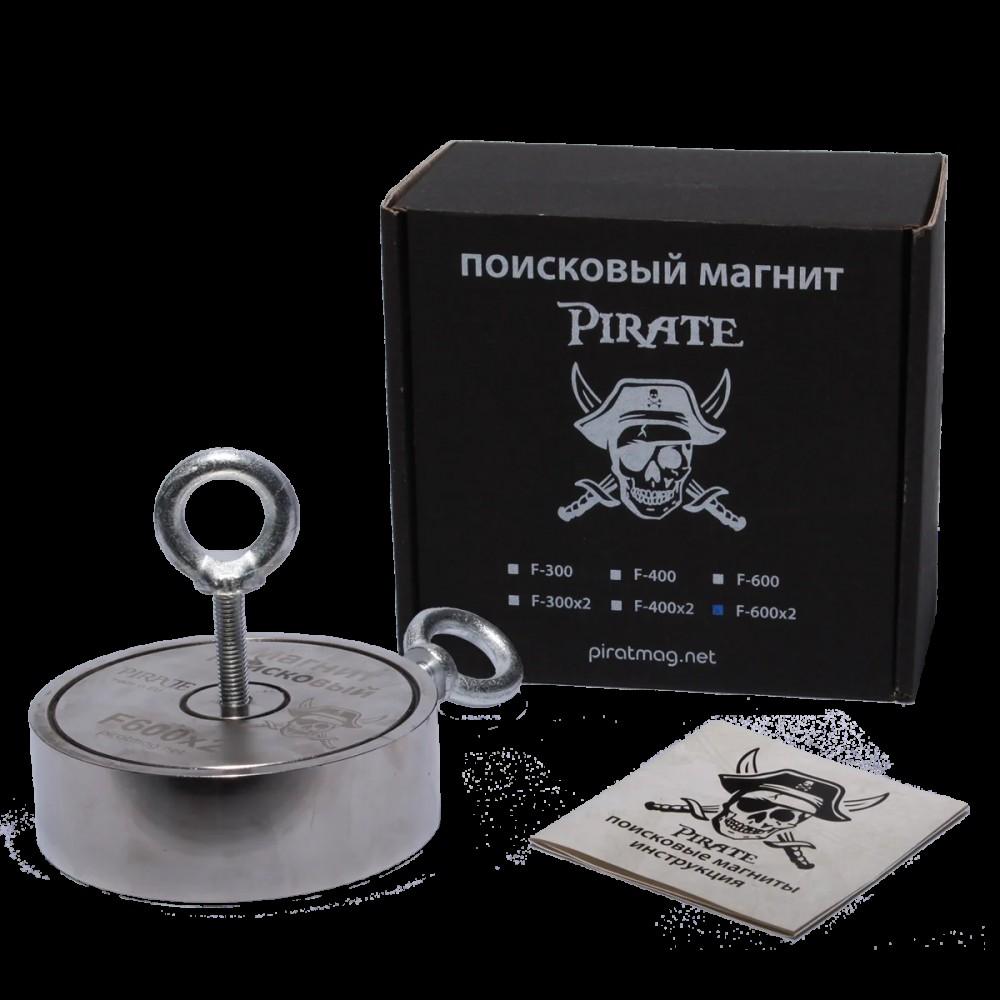 Поисковый магнит Пират F-600*2