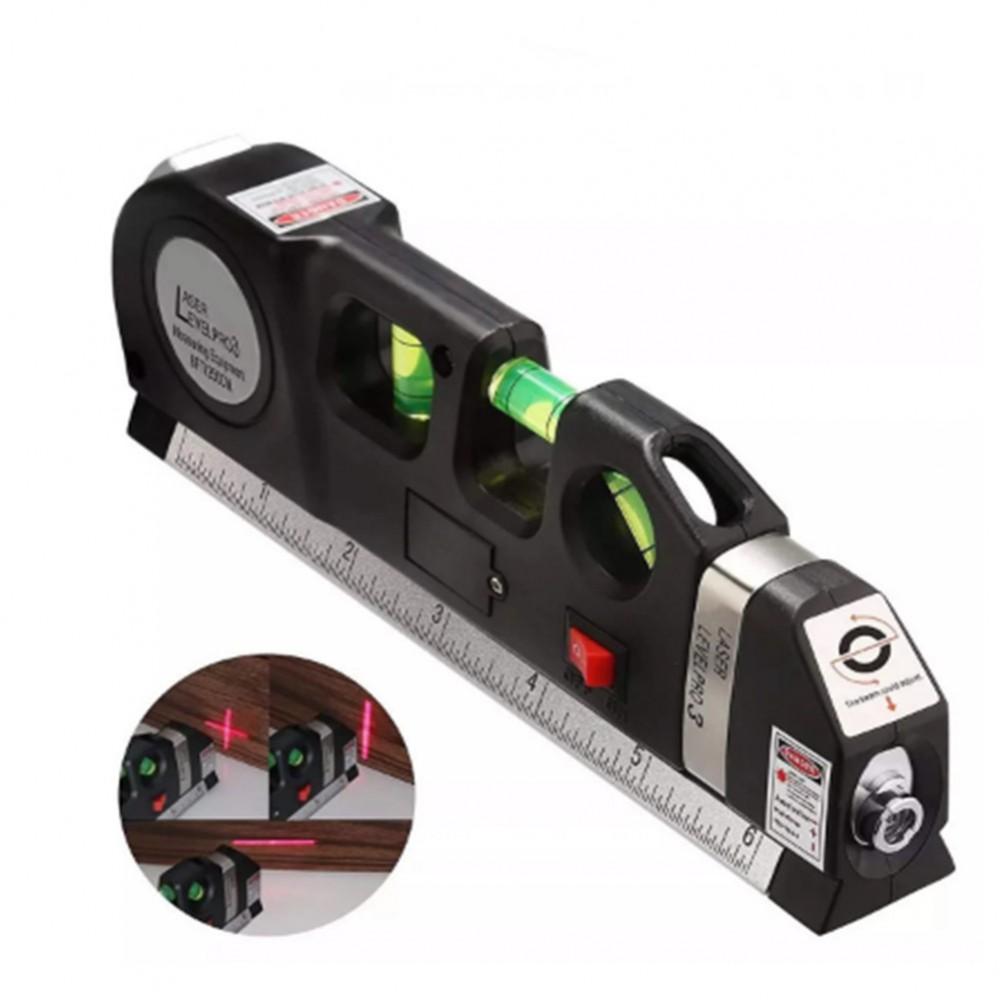 Лазерный уровень со встроенной рулеткой Laser Level Pro3