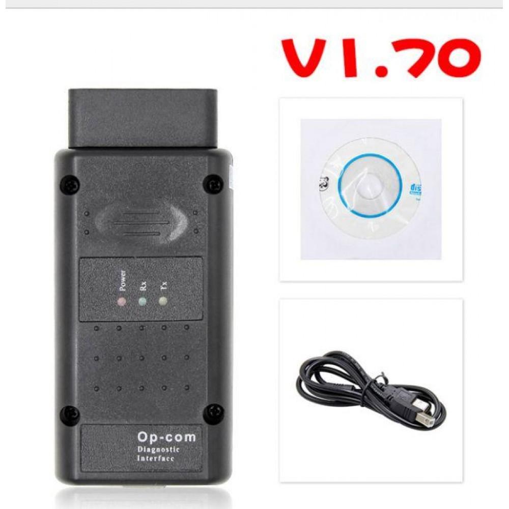 Cканер OP-COM 1.70 чип PIC18F458 flash OBD2 opcom OBD