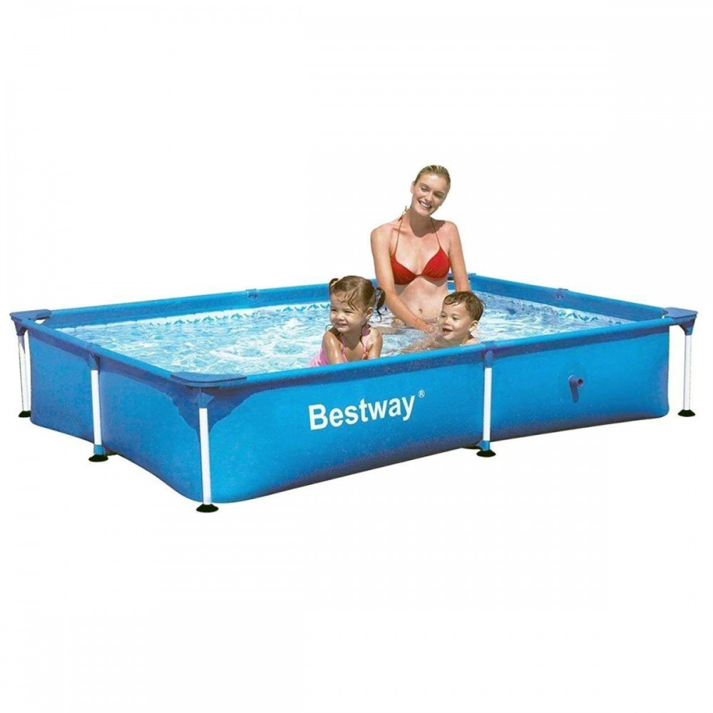 Каркасный бассейн Bestway 56401, 221 х 150 х 43 см