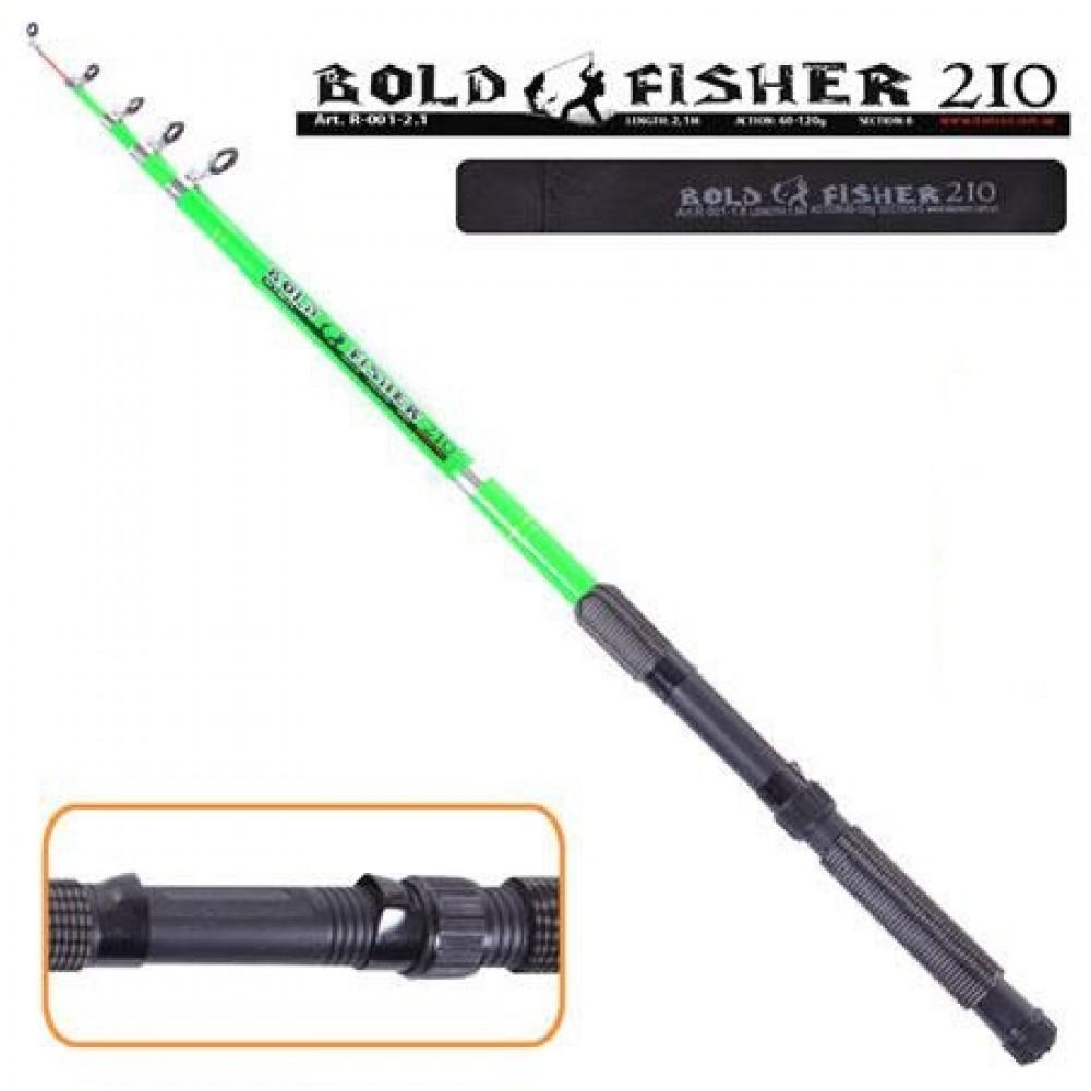 Спиннинг Bold fisher 2.1 м 60-120 г, R-001-2.1