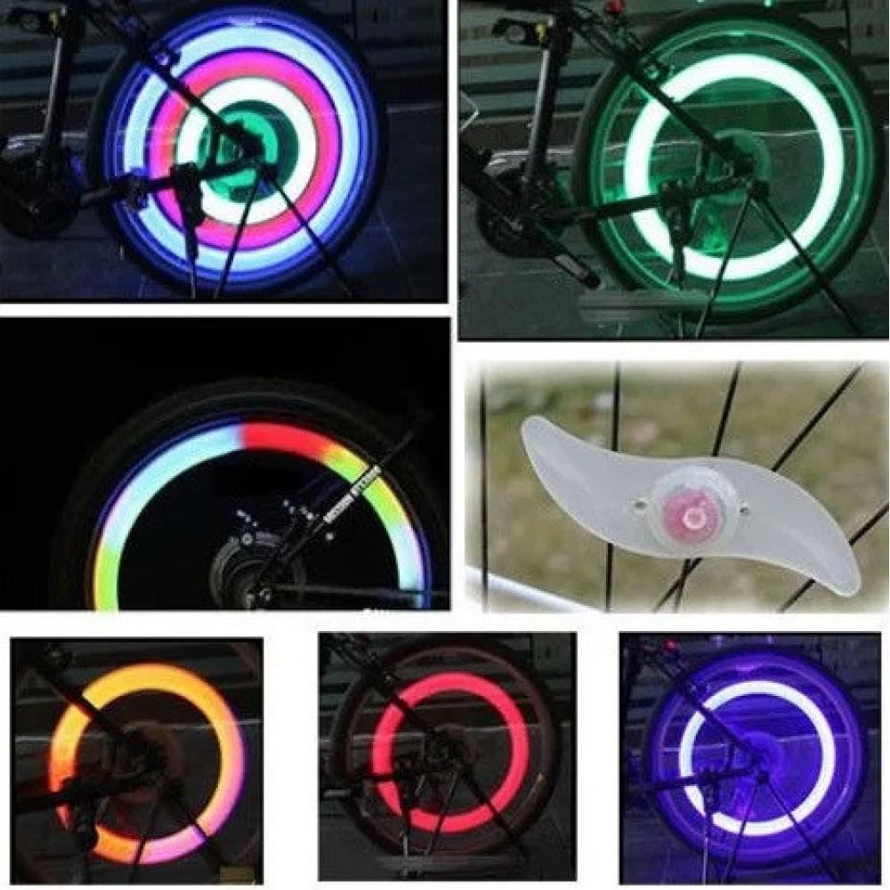 Вело подсветка на колесо велосипеда YY-601
