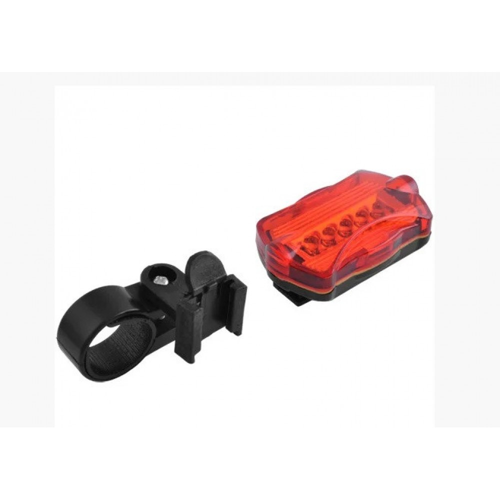 Велосипедный фонарь задний габаритный 198 5 LED