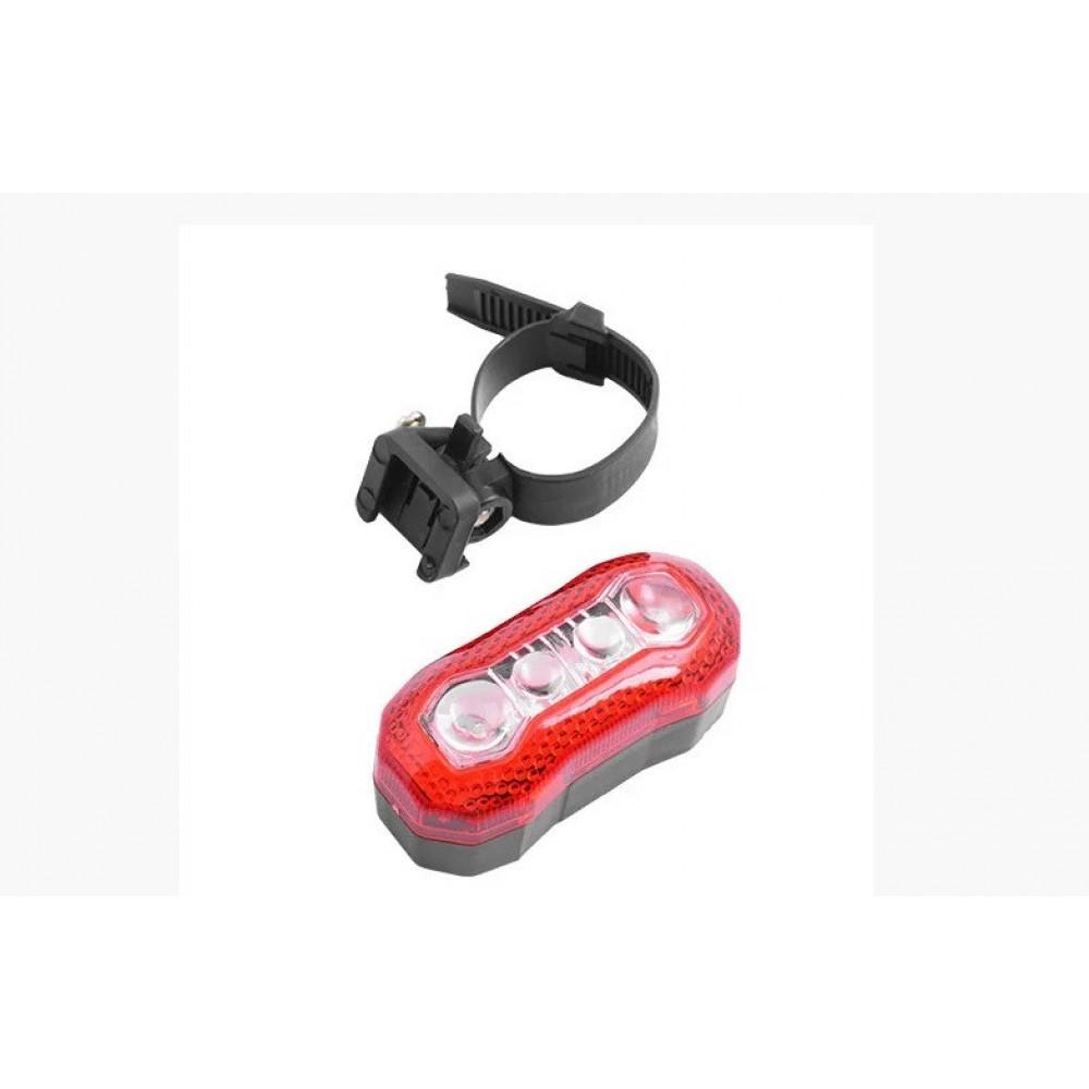 Велосипедный фонарь SX-189 4 LED задний габаритный