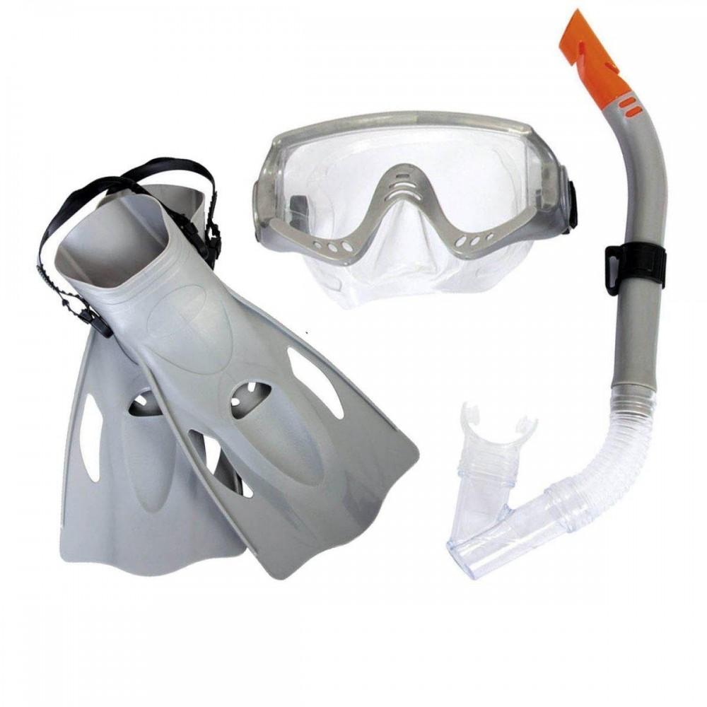 Набор для плавания Bestway 25020 размер L, серый