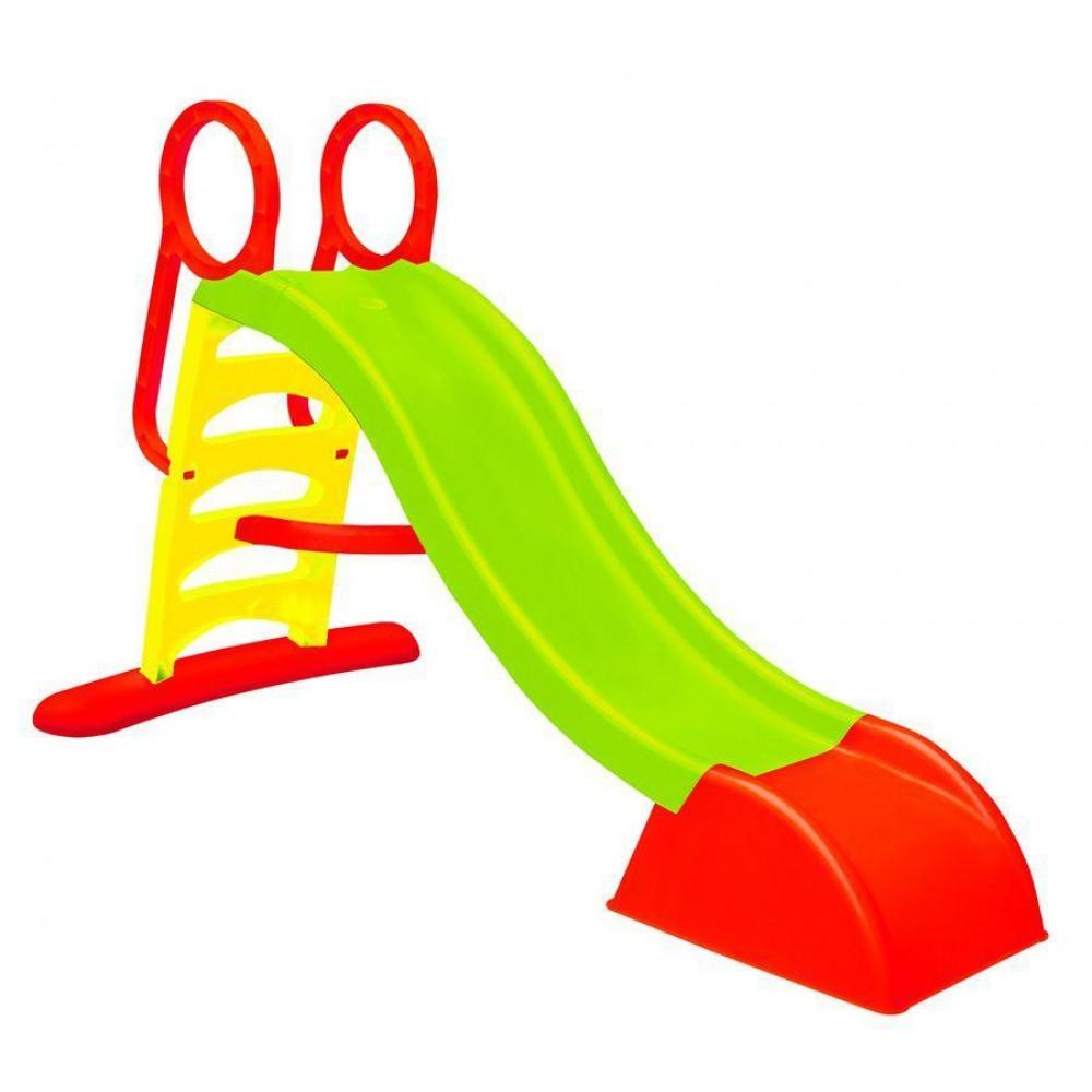 Горка пластиковая детская Mochtoys 180см зеленая