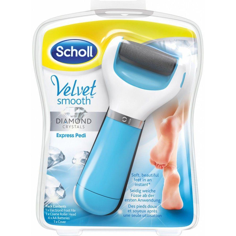 Электрическая роликовая пилка Scholl Velvet smooth