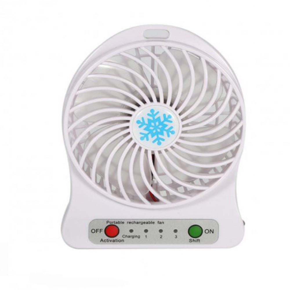 Портативный мини вентилятор с аккумулятором Portable Fan, 3288