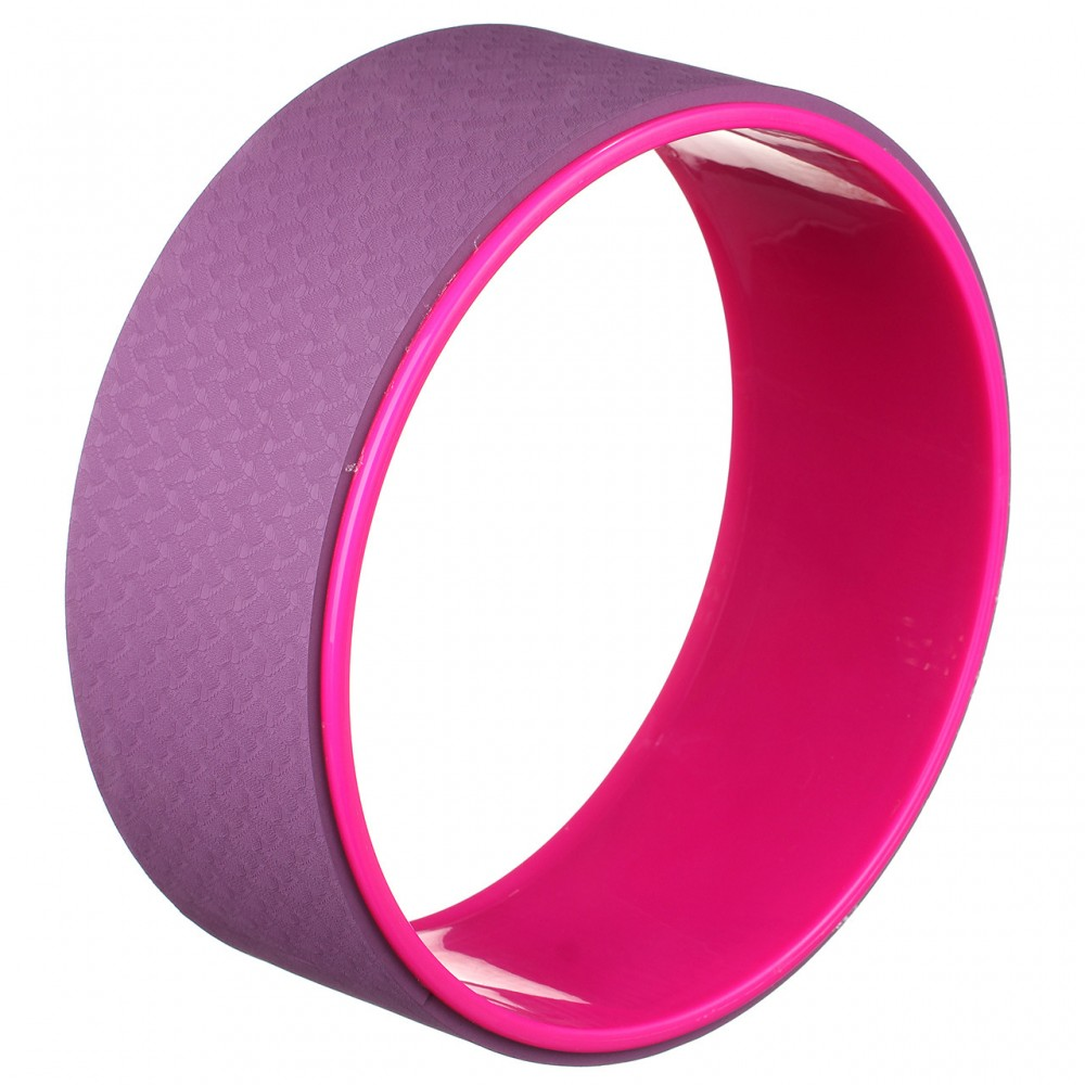 Колесо для йоги Eva 33 х 12 см, 1842, фиолетовый